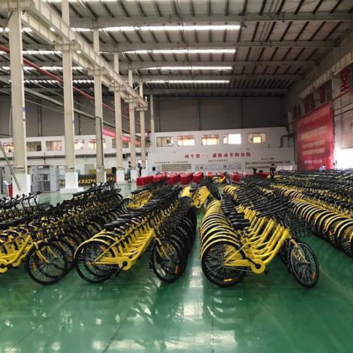 共享单车生产车间