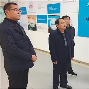 豫东综合物流集聚区管委领导视察园区