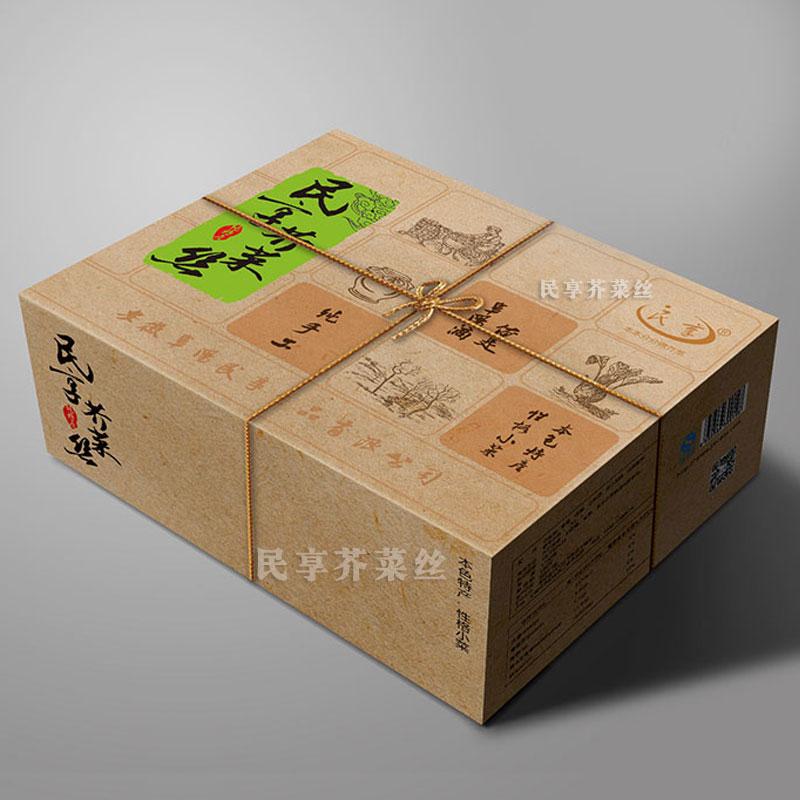 民享芥菜丝礼盒包装