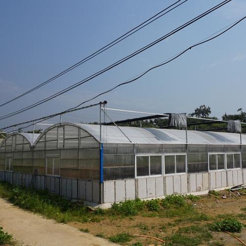 全自动太阳板养殖大棚