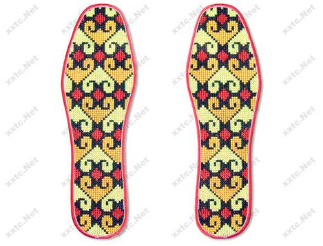 绣花鞋垫图案样式