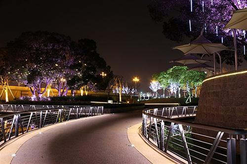 园林与古建筑夜景