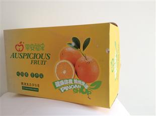 平安富果纸盒包装设计