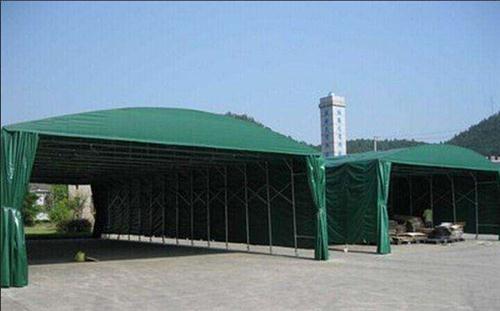 推拉帐篷厂家|郑州大型仓库推拉伸缩帐篷