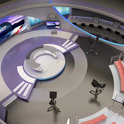 全媒体多功能演播室