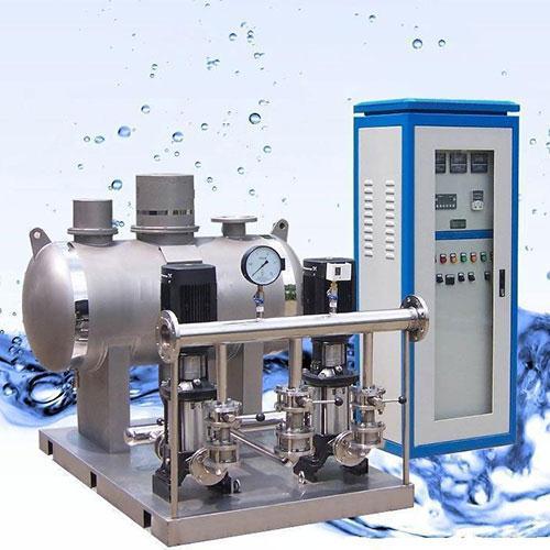 信息介绍 thw全自动不锈钢无负压供水设备主要是由微机变频