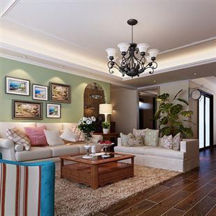 美式混搭风格,室内家装设计