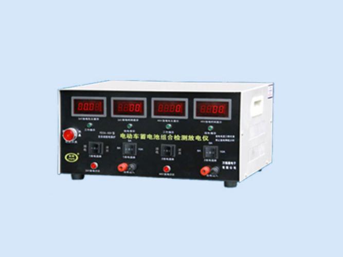 电动车蓄电池串联检测放电仪