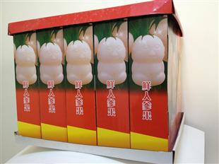 人参果纸盒包装设计