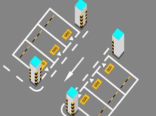 停车场划线2