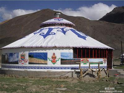 大型蒙古包  蒙古包的保养保修