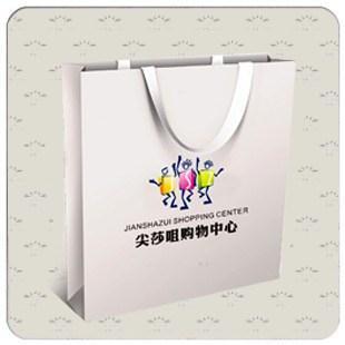 商场白卡纸手提袋系列