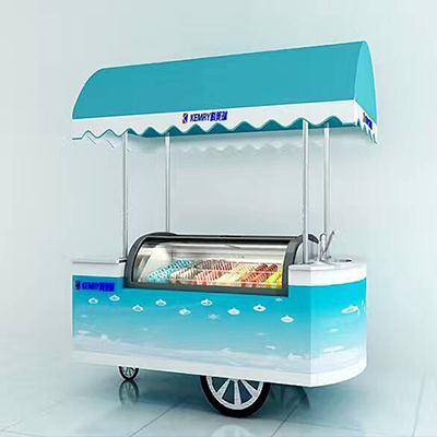 超动冰淇淋柜展示