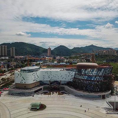 综合项目工程案例32-01湖南湘西武陵山文化广场回填工程
