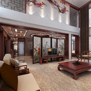 室内家装现代中式古典东南眼装修